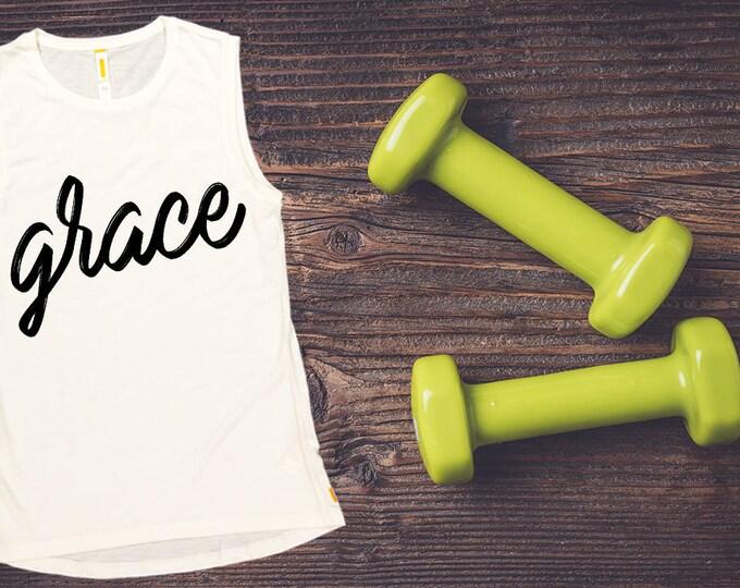 Women's Tank Top -Grace,  Workout Clothing