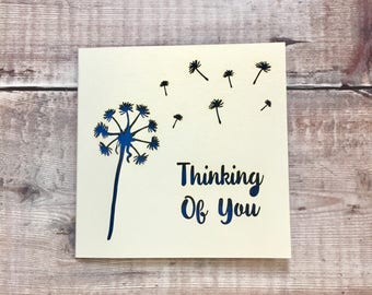 Sympathy Card, Bereavement, Sorry for your loss, Thinking of You, Condolences, Thoughts are with you, In Mourning, Friend Grieving, Comfort