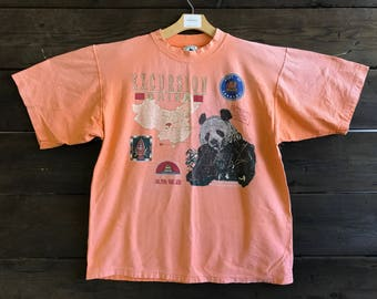 Vintage 80s Excursion China Graphic Tee