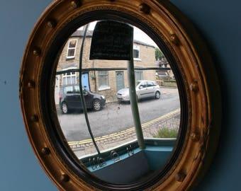 Small, Decorative Convex mirror