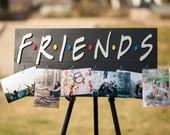 Friends show sign. Friend tv show. Photo holder . Photo hanger. Best friends.  Friends show. Friendship. Picture holder. 90s tv. Besties.