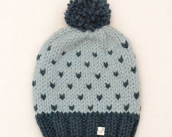 F508del - Dotted Pompom Hat