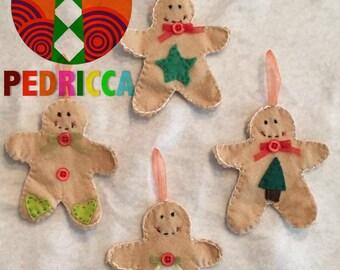 Gingerbread set, little gingerbread men