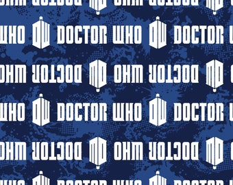 Doctor Who Cotton fabric