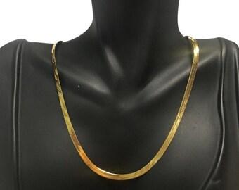 14k Herringbone chain