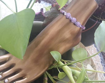 Purple Passion Anklet