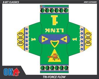 Tri-Force Flow 8bit Hockey Jersey