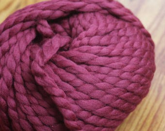 Colors available, chunky Merino Wool, yarn 100% Merino Wool, 100 grams, extra soft natural fiber yarn ball