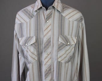 Vintage Men's Wrangler Western Shirt