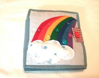 Quiet book cloth game