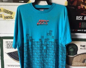 90's Vintage Vans Skateboarding Shirt Overprint