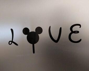 2 pack - Disney Mickey Ice Cream Bar decal sticker