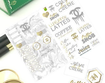 Luxury Latte Weekly TN Planner Kit