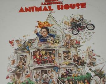 Vinyl Record, Animal House soundtrack, vintage vinyl record album