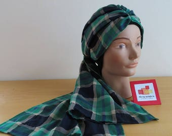 CHEMO Cap with built-in scarf