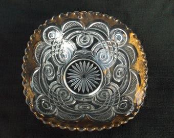 EAPG   Curlicue, ca 1901 Bryce, Higbee & Co. Bowl