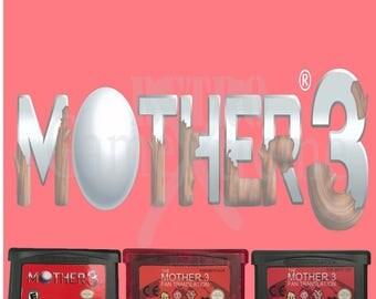 Mother 3 fan translation saves Gameboy Advance cartridge GBA
