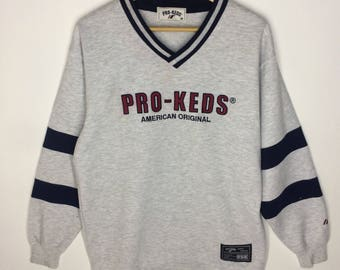 Rare!!! Vintage Pro Keds Big Logo Sweatshirt
