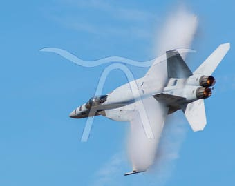 F/A-18E Super Hornet Metal Photograph - Aviation Art