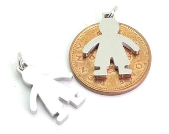 Stainless boy stamping blank| boy stainless steel blank | children's stainless blank| male stainless blank | stainless