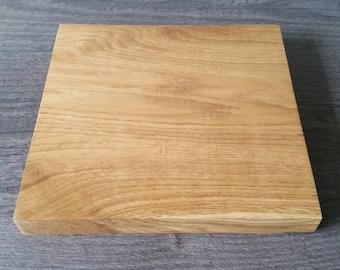 Rustic, handmade solid oak serving board