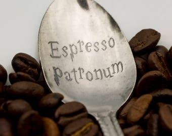 Harry Potter Espresso Patronum spoon