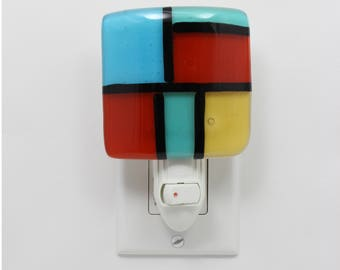 style stained glass night light