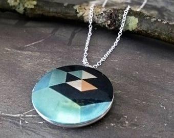 locket, art locket, locket necklace, silver Locket,locket, necklace, sterling silver Locket, vintage locket,orient,abstract,