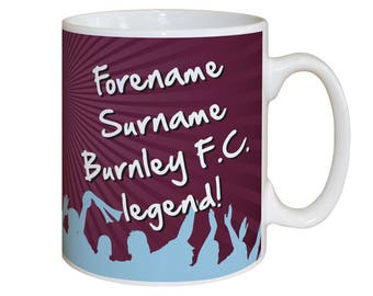 Burnley FC Legend Mug