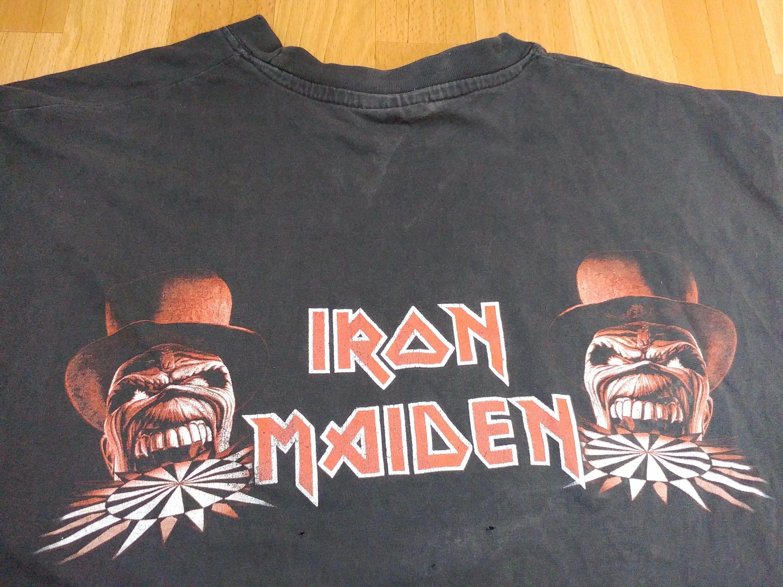 08ca81a4 Vintage Iron Maiden Concert T Shirts