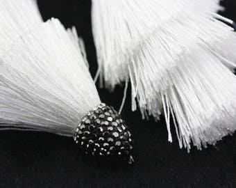 Fashion Wholesale 3 Layers Tassel DIY Jewelry 2 Pcs Per Bag For Jewelry Making. TAS-002V-02