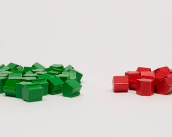 Set game pieces for Monopoly