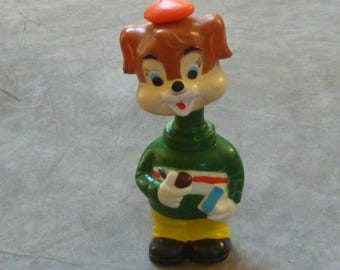 Vintage wind-up Dog Made by ALPS Japan