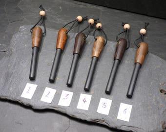 Handmade Firesteel/ 9mm Ferro Rod/Desert Ironwood/  Fire lighter/ Ferrocerium Rods/ Bushcraft/ Camping/ Outdoors/ Fire Steel