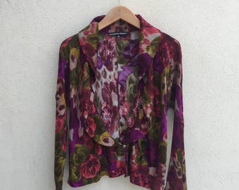Katherine Hamnett 2 Way Styling Rayon Blouse