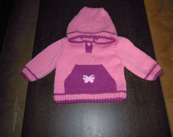 sweater with hood and Kangaroo pocket size 9 months