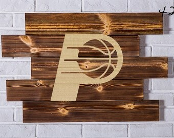 Indiana Pacers Wood Sign Indiana Pacers Wall art Indiana Pacers Gift Indiana Pacers Birthday Indiana Pacers Party wooden