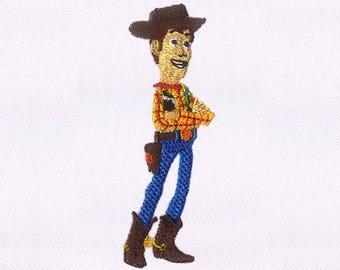 Story Cowboy Woody Digital Embroidery Design