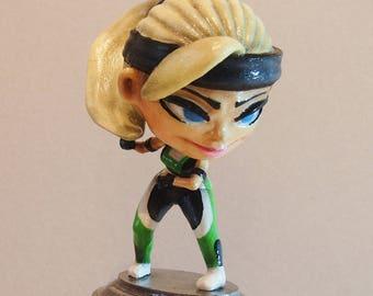 Sonya Blade - Mortal Kombat Custom Unique Figure