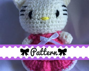 Cutesy Kitty (*PATTERN ONLY*)