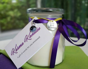 Lavender Lemongrass Soy Wax Candle