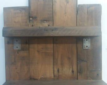 Reclaimed Warm Oak Shelf