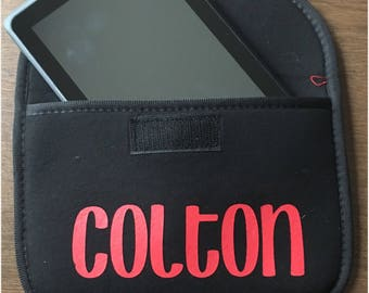 Personalized tablet case