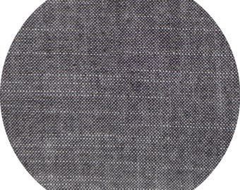 Birch Organic Fabrics: Chambray in Black