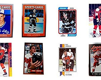 8 - Eric Lindros Odd-Ball Trading Card Lot