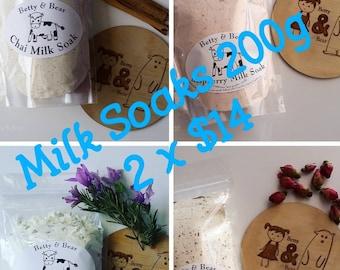 MILK SOAK 2 x pack deal