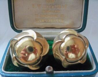 Sophisticated Designer Ermani Bulatti signed clip earrings