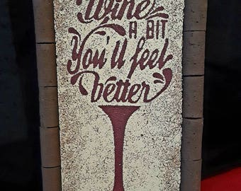 Wine a bit...