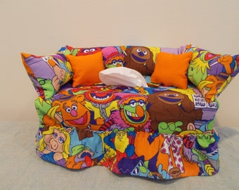 The Muppets Couch Tissue Box Cover