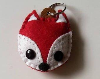 Fox 2 - key chains / key ring